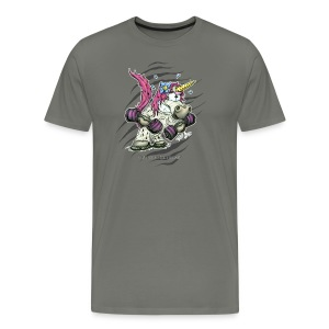 Train like a unicorn - Männer Premium T-Shirt
