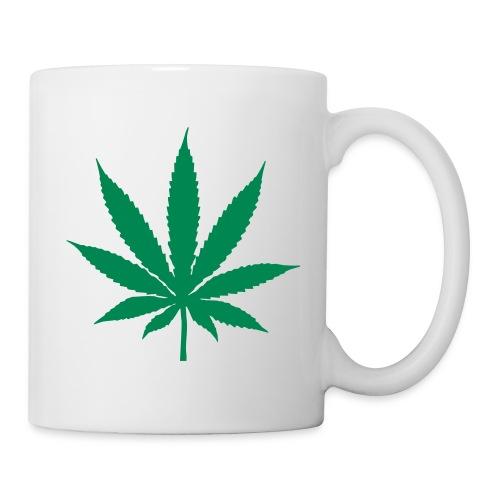 tasse cannabis - Mug blanc