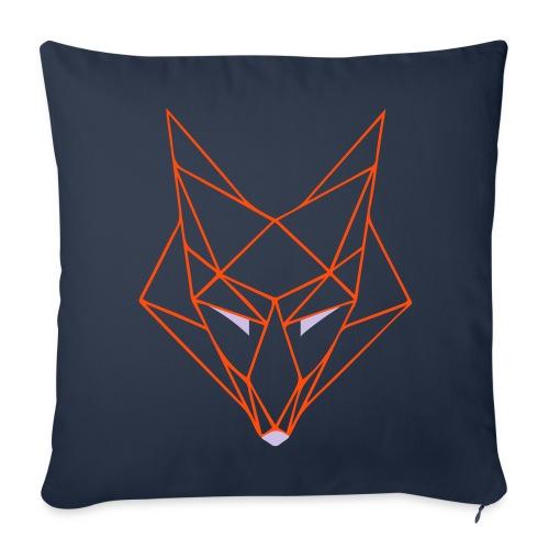 Fox on the Pillow - Sofakissenbezug 44 x 44 cm