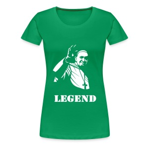 POPE FRANCIS - LEGEND - Women's Premium T-Shirt