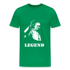 POPE FRANCIS - LEGEND - Men's Premium T-Shirt
