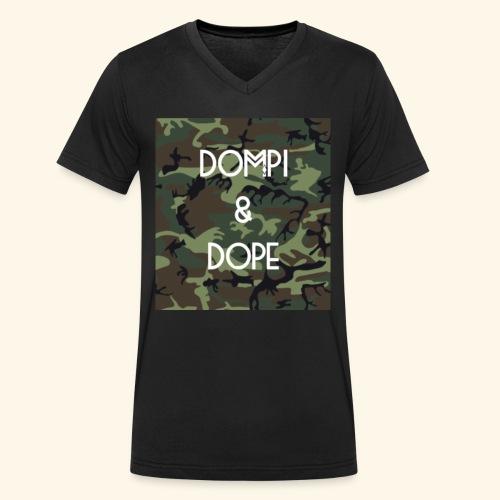 Dompi and Dope - Männer Bio-T-Shirt mit V-Ausschnitt von Stanley & Stella