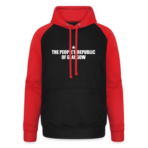 People's Republic - Unisex Baseball Hoodie