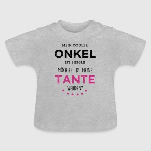 Cooler Onkel - Tante Baby T-Shirts - Baby T-Shirt