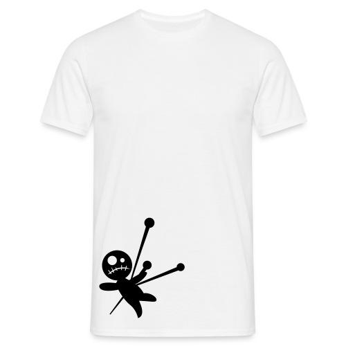 T-shirt omino traffito da spilloni - Maglietta da uomo