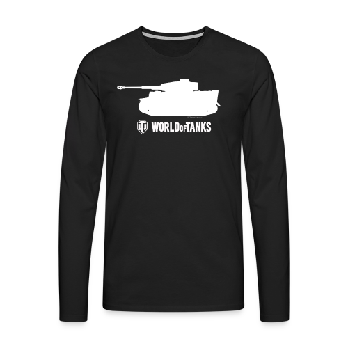 World of Tanks Tiger Male Pullover - Men's Premium Longsleeve Shirt