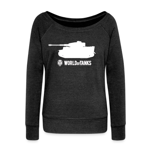 World of TanksTiger Female Pullover - Women's Boat Neck Long Sleeve Top