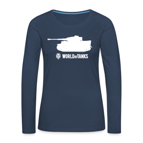 World of TanksTiger Female Pullover - Women's Premium Longsleeve Shirt
