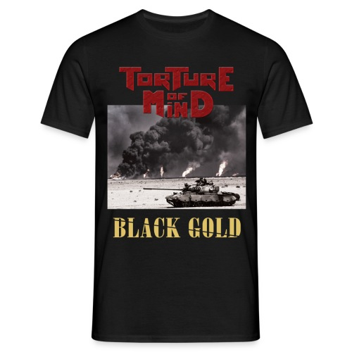 TORTURE OF MIND - Black Gold Tour - T-shirt Homme