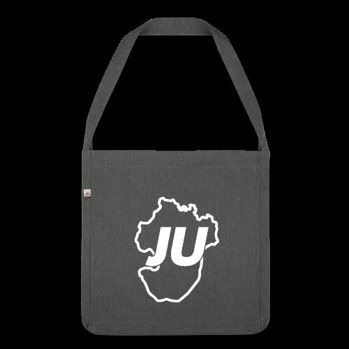 JU Umhängetasche - Schultertasche aus Recycling-Material