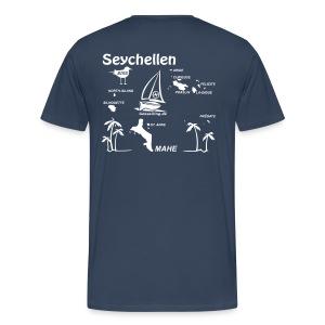 Seychellen Premium Herrenshirt freie Farbwahl - Männer Premium T-Shirt