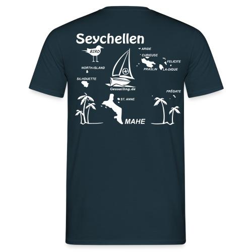 Seychellen Herrenshirt freie Farbwahl - Männer T-Shirt