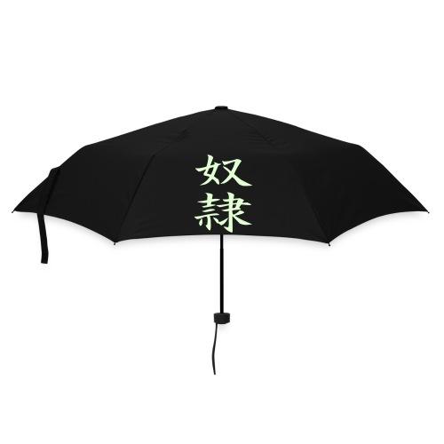Schirm - Slave glow in the dark - Umbrella (small)