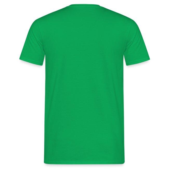 Festivalshirt mannen t-shirt goudglitter