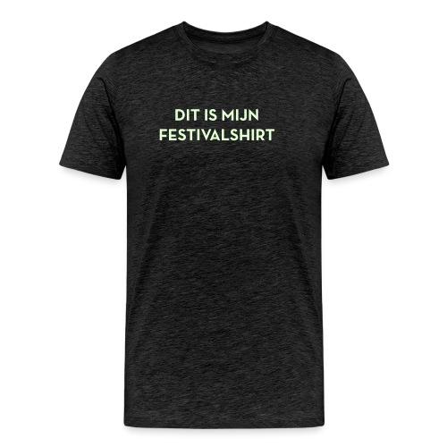 Festivalshirt mannen glow in the dark - Mannen Premium T-shirt