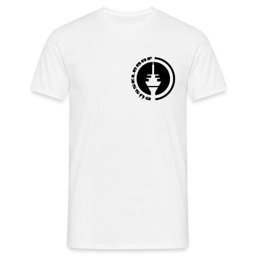 Düsseldorf Fernshturm Emblem T-Shirt - Männer T-Shirt