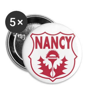 Badge Blason Nancy & Chardon - Badge petit 25 mm