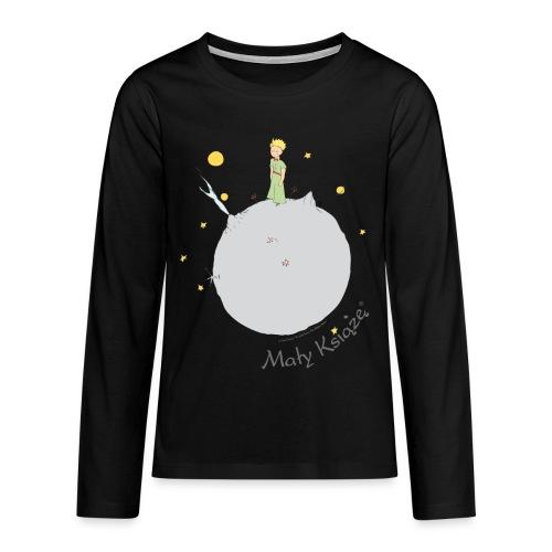 PL Buchcover - Teenager Premium Langarmshirt