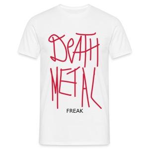 death metal freak - Männer T-Shirt