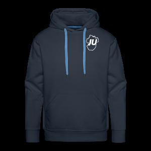 Dickes JU Sweatshirt einfarbig Männer - Männer Premium Hoodie