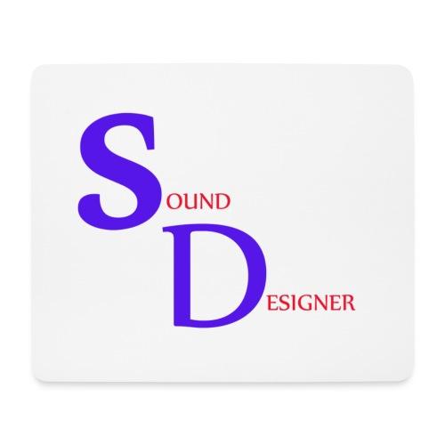 Tapis de souris Sound Designer  - Tapis de souris (format paysage)