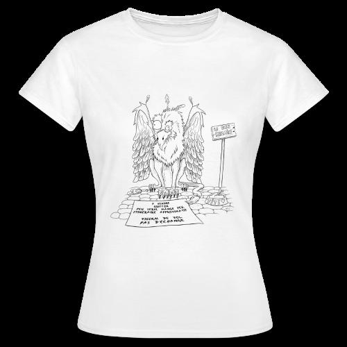 Tee-shirt femme griffon - T-shirt Femme