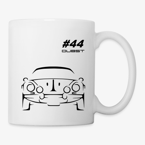 DUBST #44 RALLYE - Mug blanc