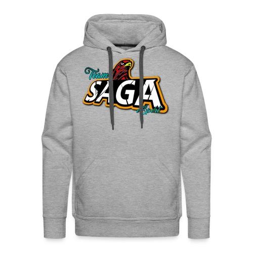 TeamSAGA Herren Hoodie / freie Farbwahl  - Männer Premium Hoodie