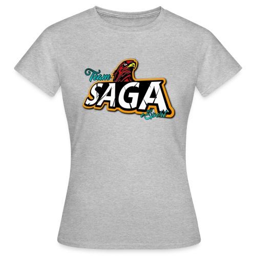 TeamSAGA Damen T-Shirt / freie Farbwahl - Frauen T-Shirt