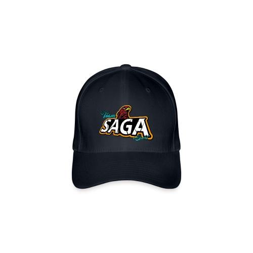 TeamSAGA Basecap - Flexfit Baseballkappe