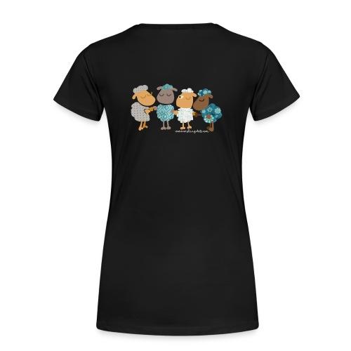 T-shirt met schapen - Vrouwen Premium T-shirt