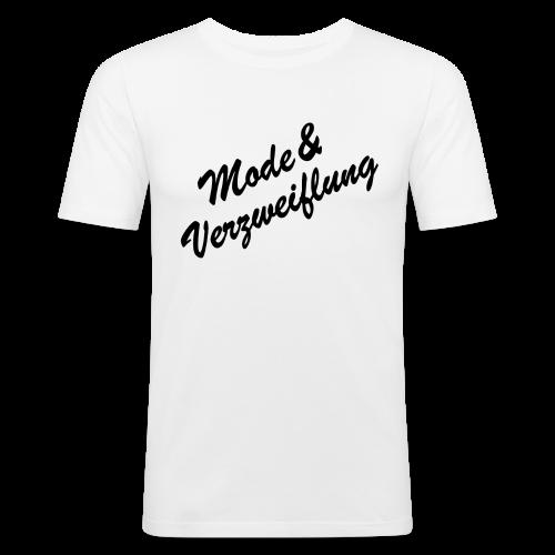 Mode&Verzweiflung - Männer Slim Fit T-Shirt