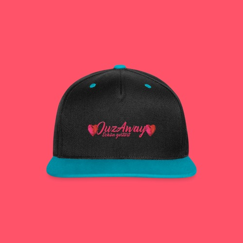 Kontrast SnapBack Cap JuzAway Logo 2017 - Kontrast Snapback Cap