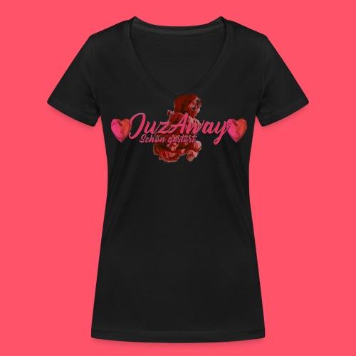 JuzAway T-Shirt V-Ausschnitt - Frauen Bio-T-Shirt mit V-Ausschnitt von Stanley & Stella