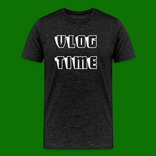 vlog time shirt - Men's Premium T-Shirt
