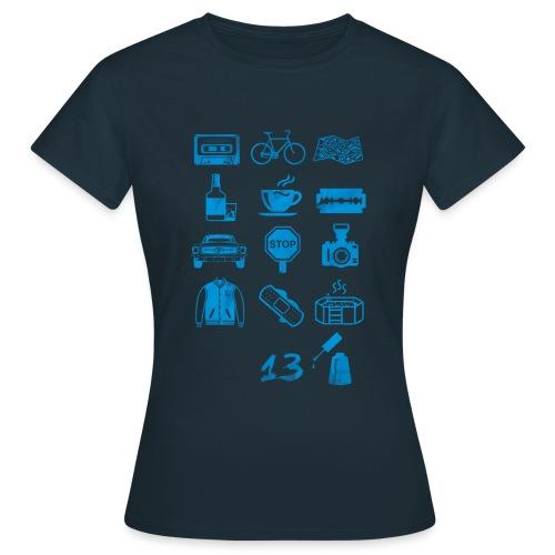 13 (Icons) Reason why tshirt woman donna - Maglietta da donna