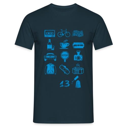 13 (Icons) Reasons Why tshirt - Maglietta da uomo
