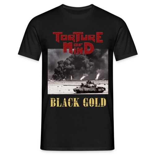 Torture Of Mind - Black Gold - T-shirt Homme