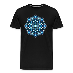 Color Dots, Dot Art, Mandala, Yoga, Meditation T-Shirts - Männer Premium T-Shirt