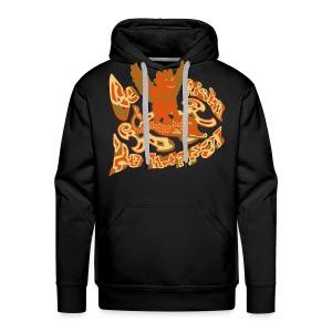 Go fish! Be happy!, sweatshirt - Herre Premium hættetrøje