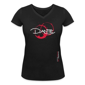 NOVEMBER RED T-Shirt V-Neck Women - Frauen T-Shirt mit V-Ausschnitt