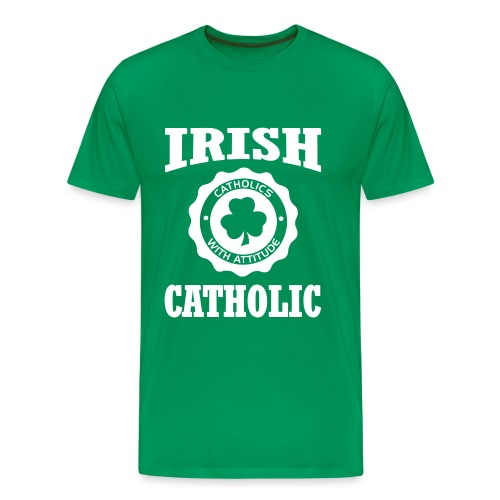 IRISHCATHOLIC1 - Men's Premium T-Shirt