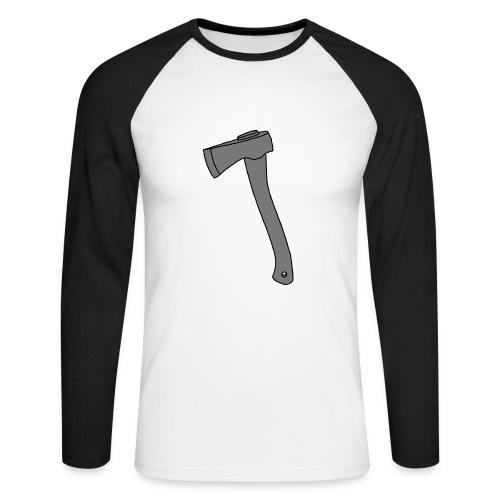 AXT Beil 2 - Männer Baseballshirt langarm