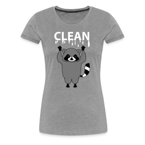 clean (b) - Frauen Premium T-Shirt