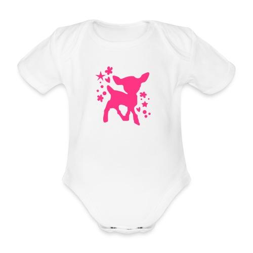 babyteez - Organic Short-sleeved Baby Bodysuit