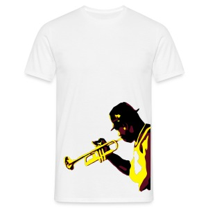 Jazz man  - Men's T-Shirt