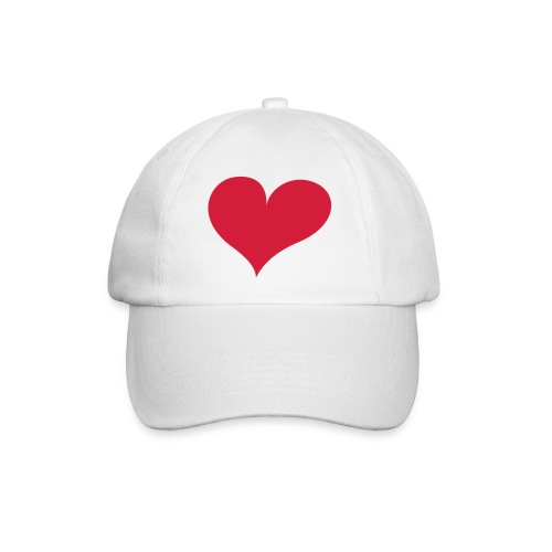 kasket med hjerte - Baseballkasket