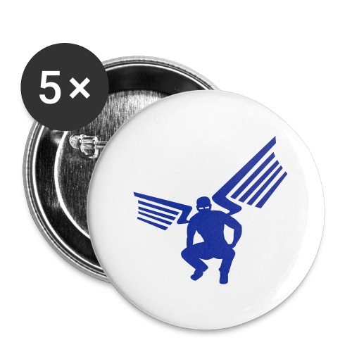 sling sticker - Buttons klein 25 mm
