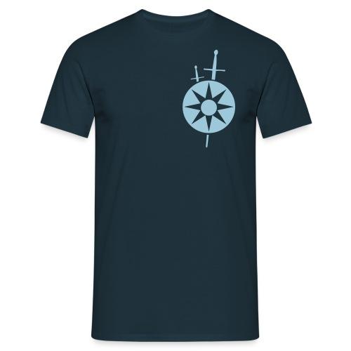 marozzo.com t-shirt blue - Men's T-Shirt