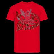 T-shirts ~ Herre-T-shirt ~ Go fish! Be happy!, t-shirt